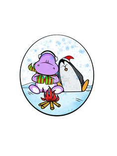 """Penguin and Hippo 