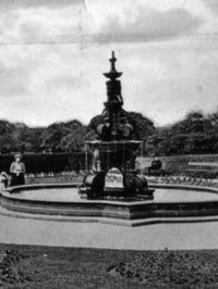 mansion B&W Historic. Photos of The Mansion House St Helens. Victoria Park. (Cowley House).