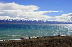 Lake Namtso, Tibet, China
