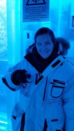 Wear an arctic parka!