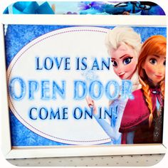 PRINTABLE  Disney FROZEN Party Signs by KraftsbyKaleigh on Etsy, $5.00