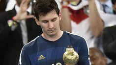 Mundial Brasil 2014 FINAL Maradona critica Balón de Oro para Messi, dijo debió haber sido para James Rodriguez de Colombia. Mundial Brasil  2014