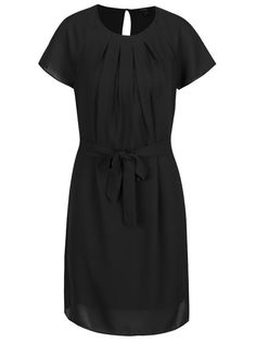 Černé šaty Vero Moda Nelli