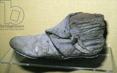 Boot (leather), Viking / Jorvik Viking Centre, York, UK / Ancient Art and Architecture Collection Ltd. / The Bridgeman Art Library