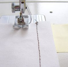 You SEW Girl: How to sew with nice even seam allowances or topstitching