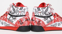 Reebok Freestyle Keith Haring