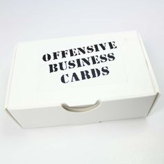 Offensive Business Cards:Amazon:Toys & Games