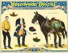 Hollywood Dollies — Tom Mix