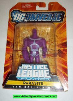 justice league unlimited PARASITE moc mip mib 2007 superman dc universe jlu dcu mattel new