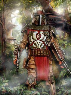 Mandalorian Warrior by Art-deWhill.deviantart.com