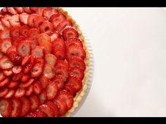How to Make Fruit Tart - Strawberry Tart Recipe - YouTube