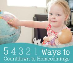 Counting down to homecoming is the best part!