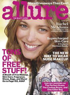 No makeup magazine cover