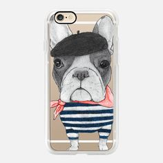 Buy French Bulldog (transparent) iPhone 7 Classic Grip Case by Barruf at CASETiFY. Iphone 5c, Iphone 8 Cases, Apple Watch Iphone, Custom Iphone Cases, Cat Dog, French Bulldog, Casetify, Tech Accessories, Fashion Accessories