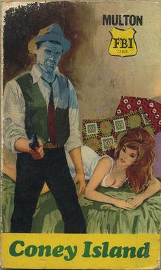 Coney Island - paperback cover. 1966
