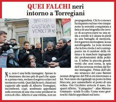 6/1/2011. Squallide cornacchie s'affollano  a favore di telecamera intorno alla vittima del terrorismo Torregiani.