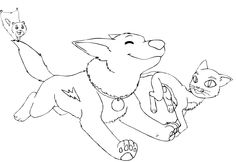 Bolt Very Happy Coloring Page - Bolt car coloring pages