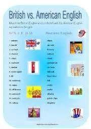 British versus American English - Bing Imagens