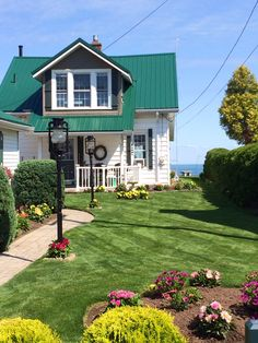 Waterfront cottage with green roof- Ellen McGauley