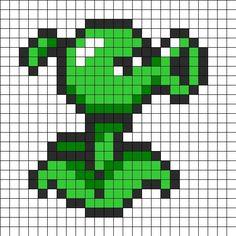 Resultado de imagen para imagenes pixeladas de planta vs zombie
