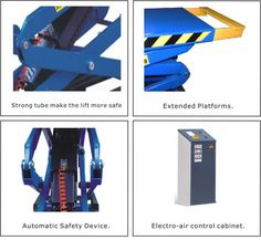 Scissor Hoist is equipment with criss-cross metal support and a railed platform that can be lifted straight up in the vertical position. It is also known as Aerial Work Platform (AWP) and Elevated Work Platform (EWP). Car Scissor Lift, Hydraulic Cylinder, Work Site, Power Generator, Heavy Equipment, Scissors, Criss Cross, In The Heights
