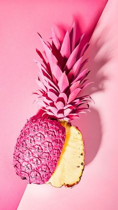 New Wallpaper Minimalistas Rosa Ideas Pop Art Wallpaper, Fashion Wallpaper, Trendy Wallpaper, Wallpaper Wallpapers, Iphone Wallpapers, Pineapple Deco, Pink Pineapple Wallpaper, Pop Art Food, Pink Iphone