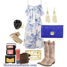 cowboy boots & sundresses, yes please!