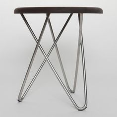 Delta Side Stool Walnut I now featured on Fab.