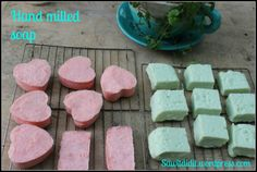 Hand milled soap - easy!