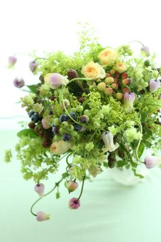 習作中の画像:一会 ウエディングの花