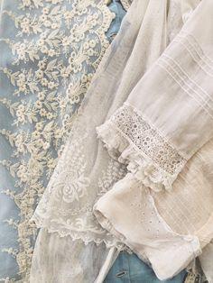 Vintage lace at Dear Golden