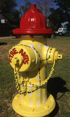 Susan Halbert-Lester--1st place fire hydrant painting competition 2013