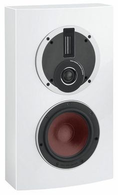 A better alternative to TV speakers, The Dali Rubicon LCR speaker delivers amazing sound quality that TV speakers just can't match. High gloss white.