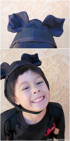 Happy Halloween 2012! Bat cape and headpiece: Made by me | Top:  Circo via Target | Pants: Toughskins | Shoes: Sperry At first...