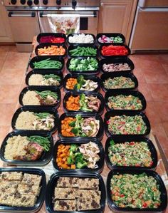 Once a week prep...brilliant!