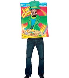 Lucky Charms: Cereal Box Costume Image