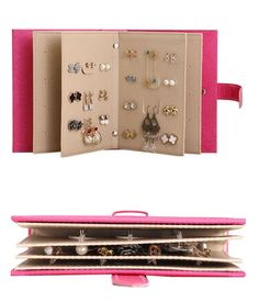 Must have item! Never lose your favorite earrings again! Keep them all together in this convenient wallet with sleeves especially for your earrings. Perfect for frequent travellers, stylists , camping, hiking, backpacking, travel and other outdoor activities. Also makes an ideal gift ( for yourself or others!) Stores 4 Backpacking, Camping, Must Have Items, Travel Hacks, Leather Earrings, Outdoor Activities, Stylists, Hiking, Pairs