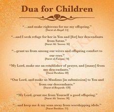 Dua For Children