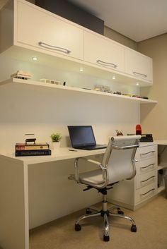 Home office cabinets computer desks ideas Study Table Designs, Study Room Design, Home Room Design, Home Office Design, Home Office Decor, Office Style, Home Decor, Office Ideas, Design Bedroom