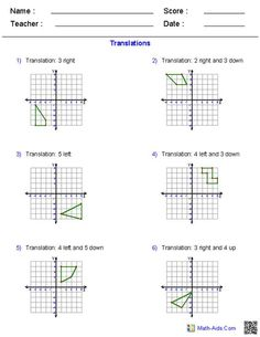 6th Grade Math Word Problems Worksheets Rotations Worksheets  Mathaidscom  Pinterest  Worksheets  Math Sorting Worksheets Pdf with Transferable Skills Analysis Worksheet Excel General Worksheets For Practising Maths At Key Stage  Commas In Addresses Worksheet Pdf