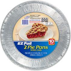 Option for Aluminum Pie Pan; week 3