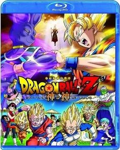Dragon Ball Z: Battle of Gods 2013 Movie Bluray 720p cover