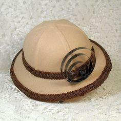 SALE Steampunk Mini Pith Helmet Hat