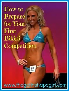 First Bikini Comp            Is one of your new years res
