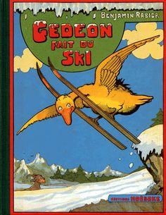 Benjamin Rabier, Gedeon fait du ski, 1938   4+benjamin+rabier.gif (367×475)