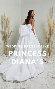 If you love Princess Diana's wedding dress or you're a bridal trendsetter, you'll want to hear the news: taffeta wedding dresses are back! We've rounded up our favorite 24 modern taffeta wedding dresses that are actually flattering.