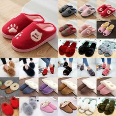 2a0ddaf3b6bcf4 Women Men Unisex Cotton Home Floor Shoes Thick Bottom Mute Winter Warm  Slippers  fashion  clothing  shoes  accessories  womensshoes  slippers  (ebay link)