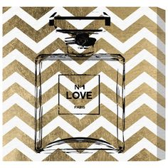 Showcase your style credentials with this printed-to-order canvas wall art. Featuring an iconic perfume design, it adds a sense of glamour to your bedroom or...