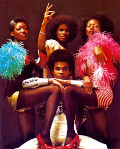 Boney M. Remembering them on TOTP at Christmas.
