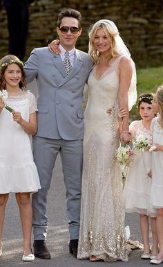 Los vestidos de novia de las topmodels - ELLE : ELLE